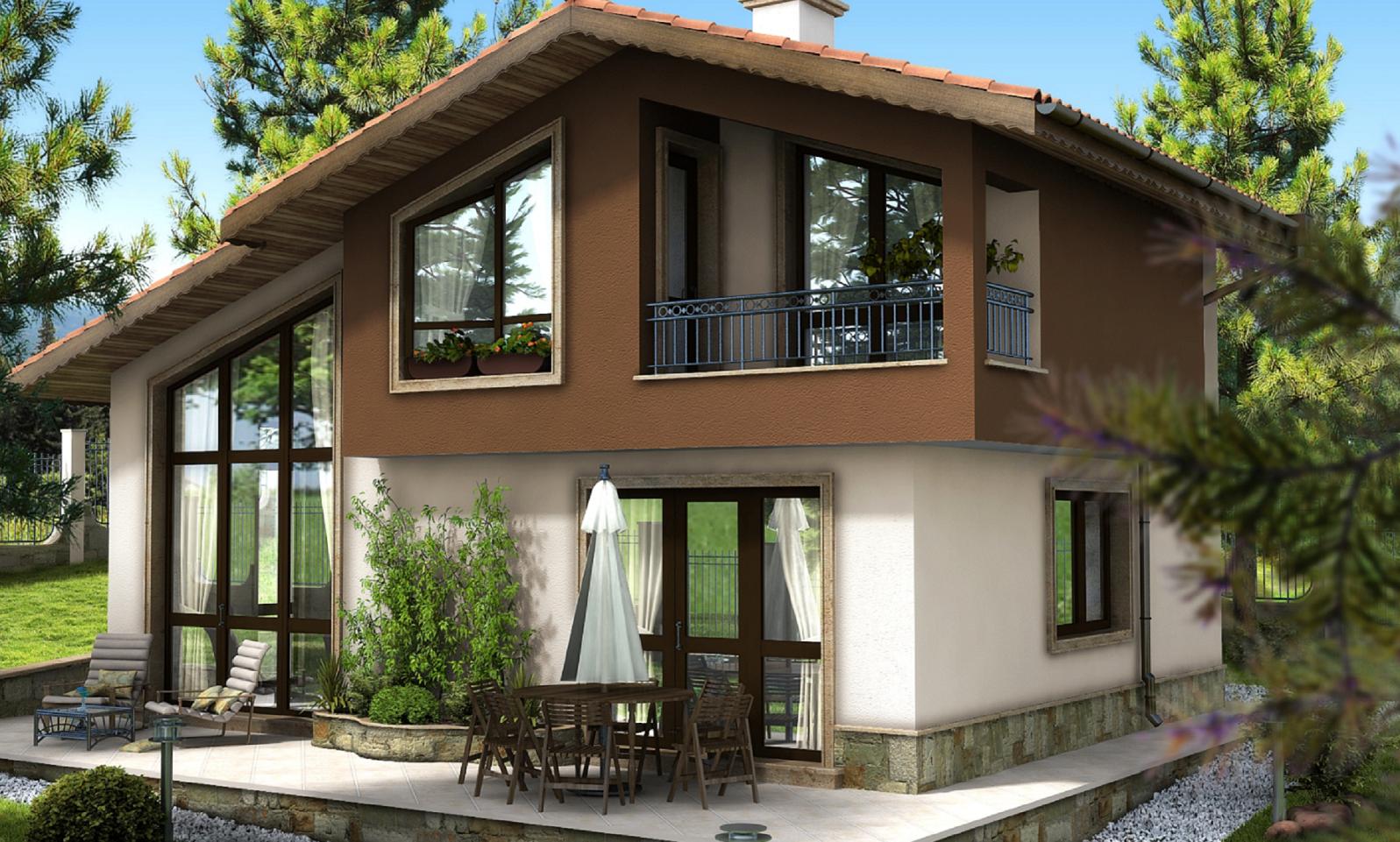 Casa din Povesti fatada dreapta - Cartierul Buna Ziua Tartasesti nord vest Bucuresti