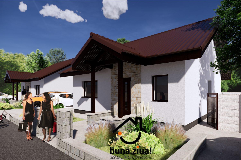 Casa Dacică din Cartierul Bună Ziua Tărtășești Nord-Vest Bucuresti